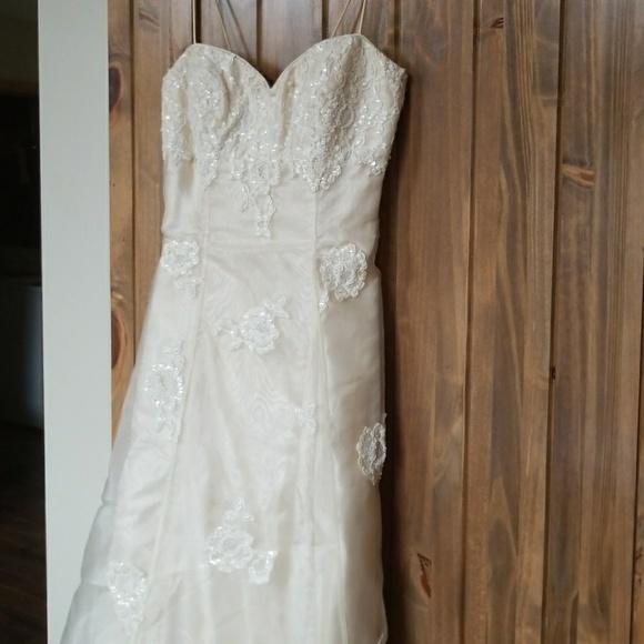 Morgan & Co. Dresses | Champagne Aline Prom Dress | Poshmark